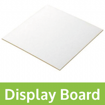 Single Sided 2000mic Display Board